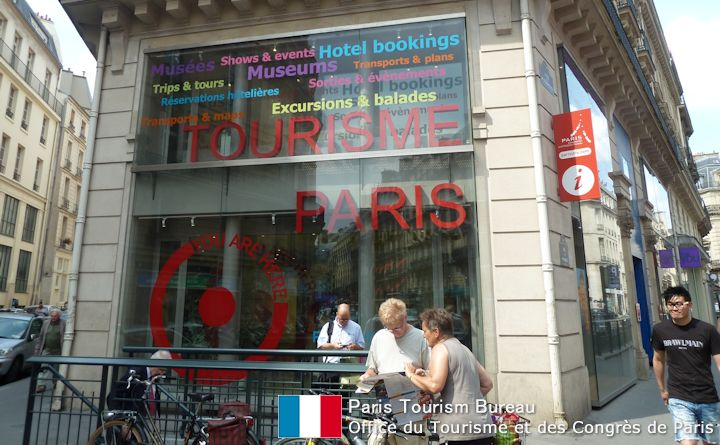 Paris tourism bureau